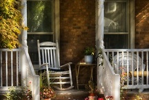 Front Porches / I love my front porch! / by Alphabet Salad Productions