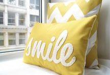 Pillows shades and rugs