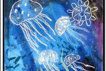 thema diep in de zee / by Sabine