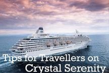 Crystal Cruises / A board dedicated to the ultra-luxury cruise line Crystal Cruises that I will be travelling on in Europe. @CrystalCruises #CrystalCruises For more content visit http://www.tipsfortravellers.com/CrystalCruises #cruise #cruising