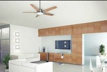 Ceiling Fans / Keep things cool with one of our Casablanca, Minka Aire, or Kichler fans!