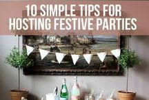 Easy Party Ideas / Great and easy ideas (such as food and decorations) for party hostess plans!