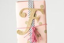 {Gift wrapping + stationery} / by Tori Tatham