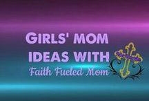 Girls' Mom Ideas: Faith Fueled Mom / Fun things to do with girls', natural hair care recipes, DIY projects, arts and crafts, kid friendly recipes, and birthday party themes and ideas.