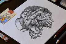 Illustration / An Assortment of inspiration illustrations. / by Josh Mateo