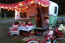 Camper Decor + Camping Ideas / by Moira