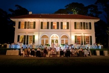 Cherokee Reception-Jekyll Island Club / Cherokee has 10 charming rooms and suites, and a great room designed for small gatherings up to 40. Perfect for a small intimate wedding reception.