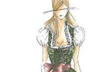 dirndl sketches / by Dirndl Magazine