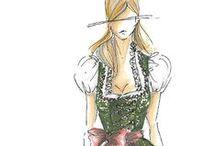 dirndl sketches / by Dirndl Magazine
