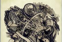 Graphite & Pencil Drawings