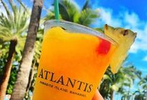Thirsty Thursday / Every Thursday we feature a new Atlantis Thirsty Thursday cocktail. Visit Paradise Island to try all of these Bahama drinks, or use our Thirsty Thursday recipes to make your own at home! Cheers!