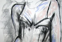 Dry Multimedia Drawing