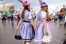 dirndl street style / dirndl street and blogger style