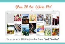 Swell Summer Giveaway! / Whether it's relaxing on the beach, making s'mores by the campfire, or finding the perfect summer dress, we'd love to see what your ideal summer would be like! / by Swell Caroline Jewelry + Monograms