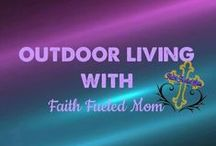 》Outdoor Living Space, Front/Back Yard Ideas: Faith Fueled Mom / Ideas to make your front and back yard livable.