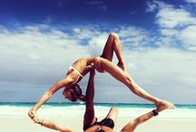 Health & Exercise / Physical and Mental Health. Anything from yoga, ballet, meditation, and exercise to food and diet.