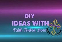 》DIY: Faith Fueled Mom / Great DIY projects on furniture,decorating, family friendly, budget friendly and easy to do DIY projects.