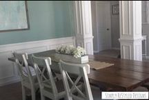 Dining Room Ideas / Ideas for our dining room