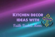 Kitchen Decor Ideas: Faith Fueled Mom / I am going to remodel my kitchen one day and this board is going to turn from ideas to a reality but until then I will be pinning the best kitchen decor ideas.