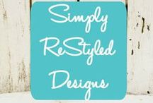 Best of {Simply ReStyled Designs} Blog / www.SimplyReStyledDesigns.com Frugal DIY Projects and organization