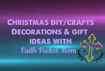 Christmas DIY/Crafts Decorations & Gifts Ideas: Faith Fueled Mom