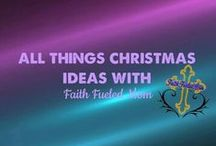 All things Christmas Ideas: Faith Fueled Mom / Crafts,ornaments,color schemes,decorations and all things Christmas.