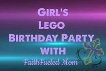 》Girl's Lego Themed 8th Birthday Party: Faith Fueled Mom / Girl's Lego Themed 8th Birthday Party