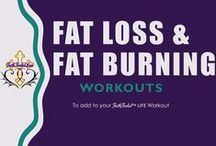 Exercise Target: Fat Loss & Calorie Burning / Fat Loss and Fat Burning Workout Routines, Nutrition and Tips www.FaithFueledMoms.com