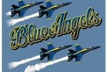 Blue Angels / The Flying Boys and Girl in Blue