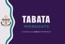 Tabata / Tabata Workout Routines to get your heart pumping and make you Sweat www.FaithFueledMoms.com