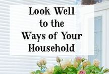 Christian Homemaking / by Crystal Brothers {Serving Joyfully}