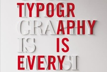 Typography / by Heypenman