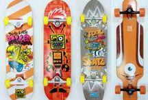 Skateboards / design ideas & cool boards / by Weirdboards.com