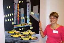 My Beaded Artwork / Original beaded paintings, cars, and small works by The Lone Beader.  / by The Lone Beader