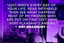 Writing Quotes / Quotes on writing, editing, publishing, etc.