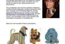 Events & Classes / Beads, Beadwork, Bead embroidery, Arts  & Crafts / by The Lone Beader