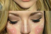 makeup. / by Lauren Schweitzer