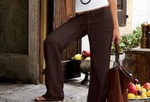 Linen pants / by Sofie