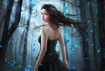 Music For My Eyes / Art, Pagan Art, Wiccan Art, Beautiful Art