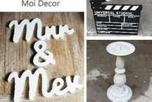 Moi Decor Hire / French store in Duncan Yard, Hatfield, Pretoria. We also rent out vintage/ shabby chic items for your wedding/ function. View our catalogue at http://www.moidecor.co.za/hiring  / by Moi Decor