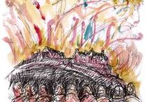 My favourite ES sketches / My favourites from the EdinburghSketcher daily sketchblog, which otherwise would get lost in the ES galleries.  / by EdinburghSketcher