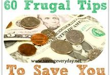 Frugal Ideas & Money Saving Tips / by Saving Every Day (for Disney)