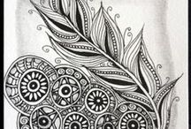 Zentangle Tiles - Sandhya Manne