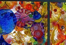 Glass Art / Art / by Karen Knutzen