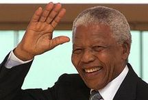 Nelson Mandela / In tribute to one of the great figures of our times, Nelson Mandela