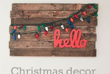 Christmas Party craft ideas  / Look through your pins or find some Christmas-y crafty new ones and pin here. we will vote on our fav and I'll have supplies ready to go Sunday :)  / by Elizabeth Fleming