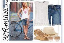Outfit verano con bermudas