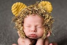 Crochet  Baby hats and bonnets / Crochet baby hats  / by Carrie Gomez Renzulli