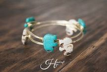 Handcraft Hope / Wire Wrapped Bangles with a Purpose! / by Brittany Almon