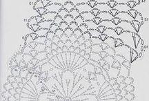 Haken: diagrammen / crochet: diagrams / by Nynke Stone